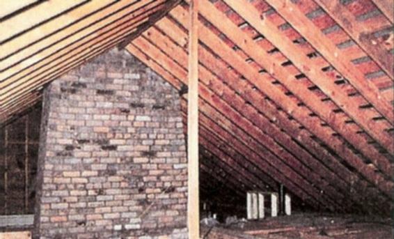 attic area