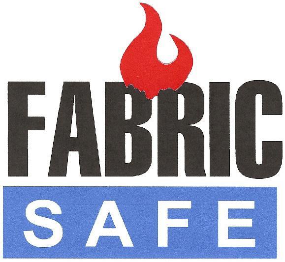 fire retardant fabric logo