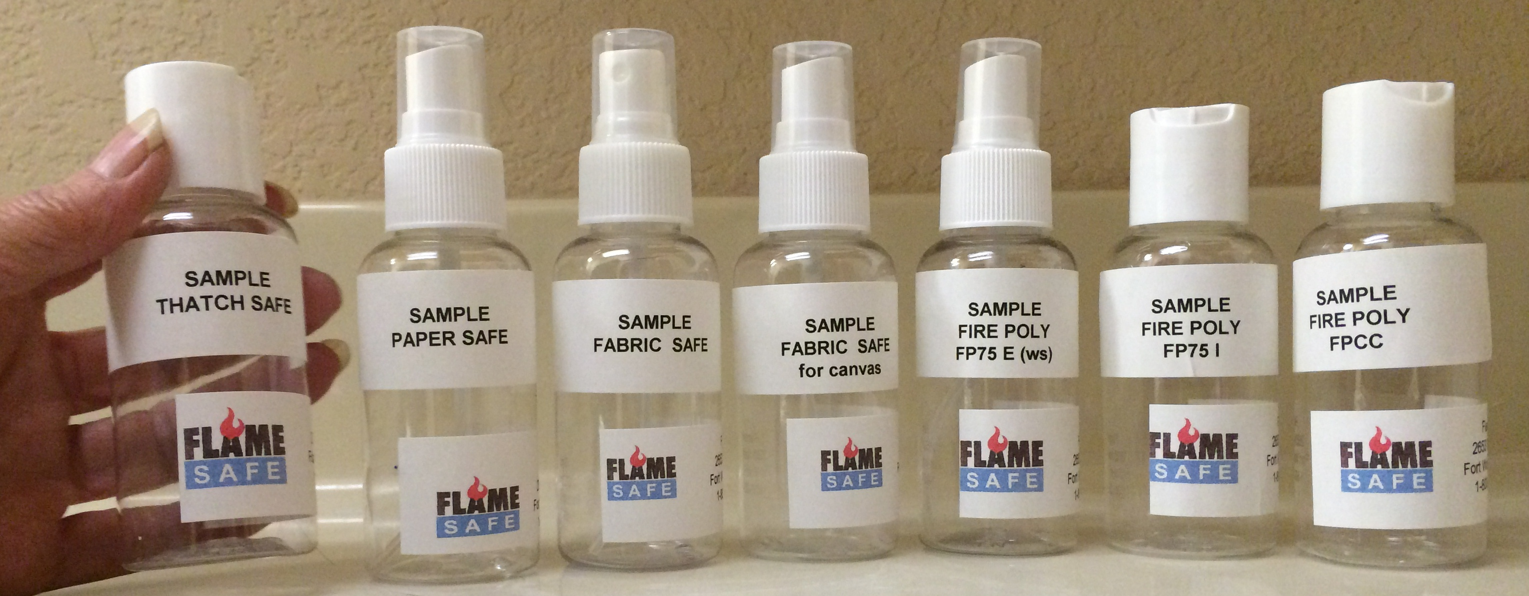 sample bottles