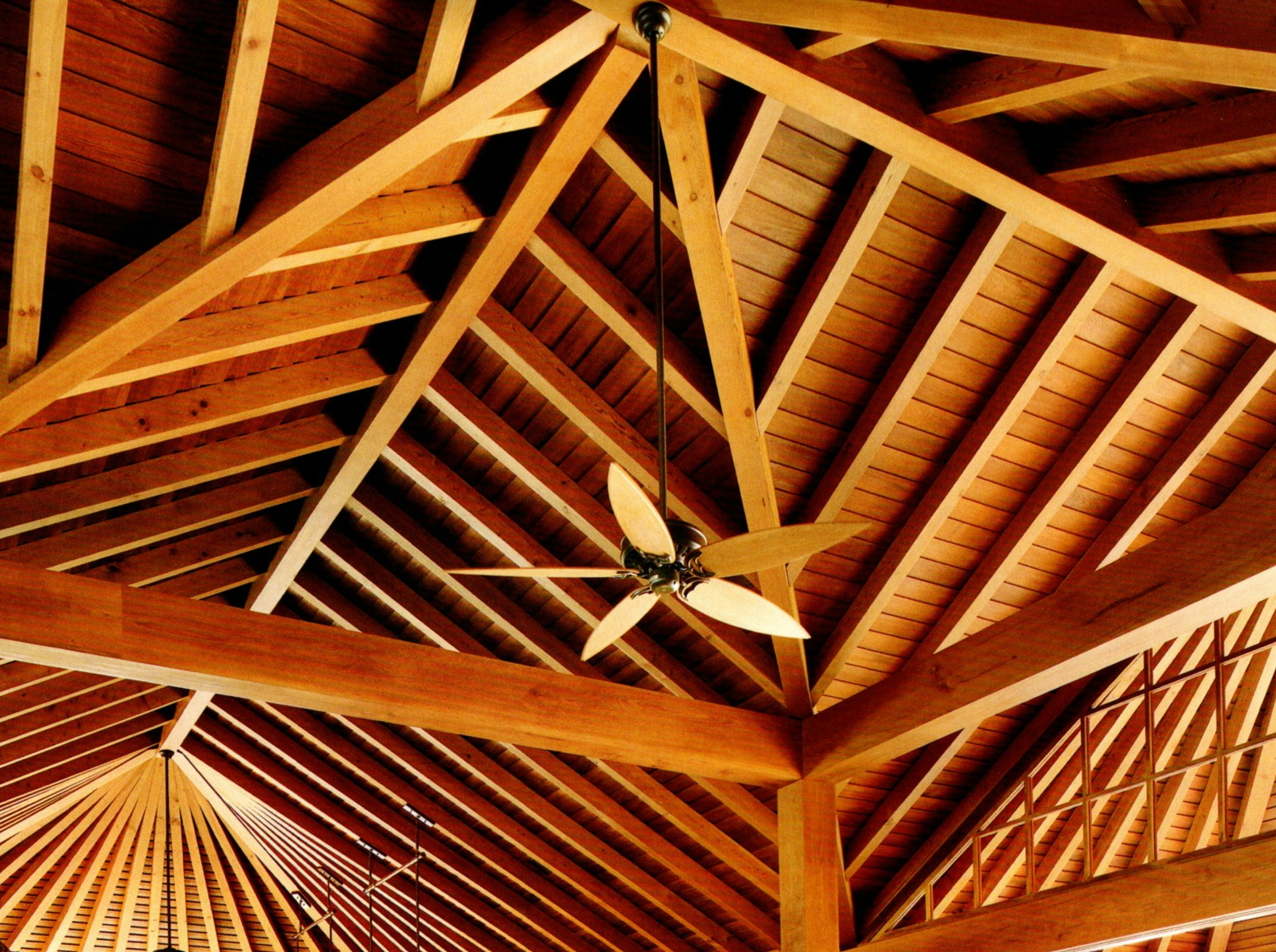 Fire Retardant for wood ceiling rafters